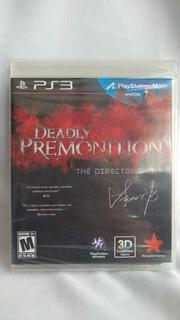 Deadly Premonition - Nuevo Y Sellado - Ps3