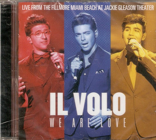 Cd Il Volo - We Are Love ***