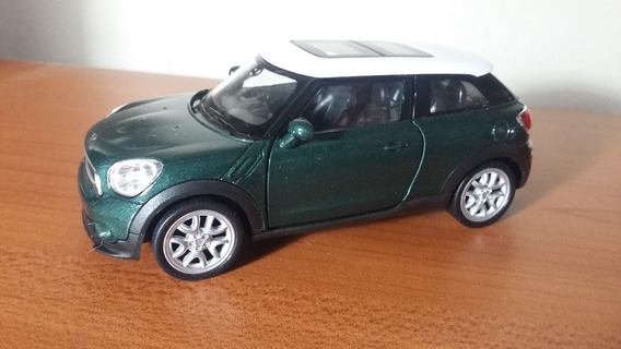 Auto De Coleccion Mini Cooper S Paceman Verde 1/36 Welly