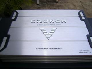 Planta Crunch 4 Canales 1600 Watts