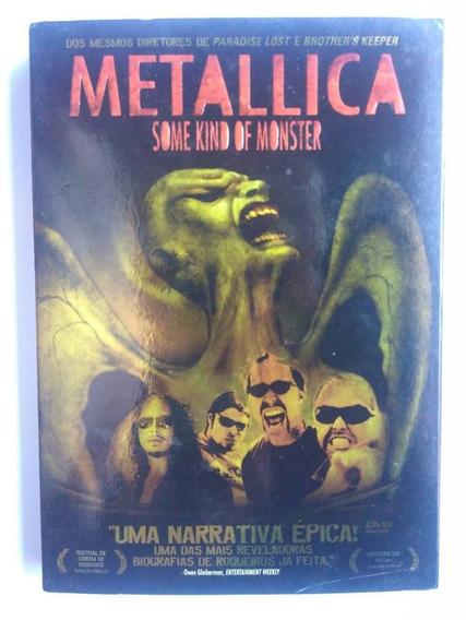 Dvd Metallica Some Kind Of Monster Duplo Com Luva Original