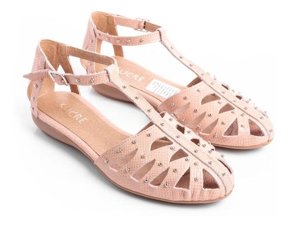 Sandalias Zapatos Mujer Ojotas Cuero Vacuno Bajas Livianas