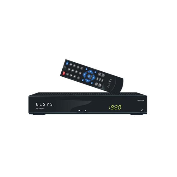 Receptor De Tv Digital/analógico Rca/rf Duomax Etrs49 Elsys