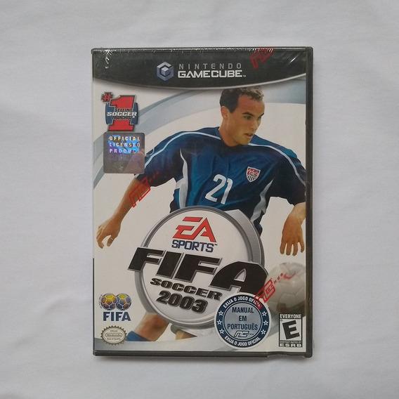 Jogo Fifa Soccer 2003 Game Cube Lacrado