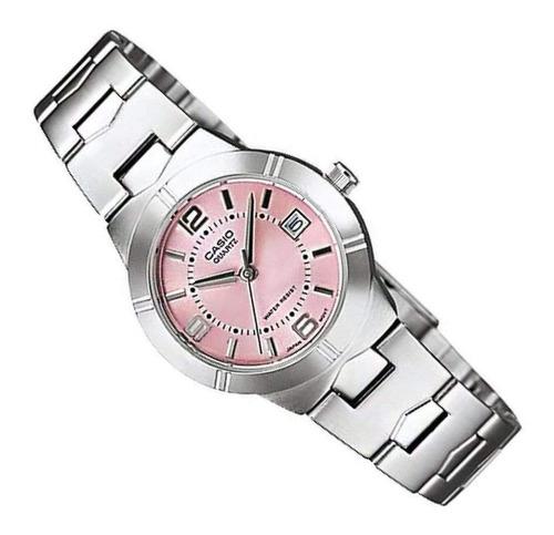 Reloj Casio Ltp 1241 Resistente Al Agua Calendario Funcional