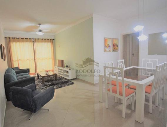 Apartamento Com 3 Dormitórios À Venda, 90 M² Por R$ 330.000 - Praia Das Astúrias - Guarujá/sp - Ap0911