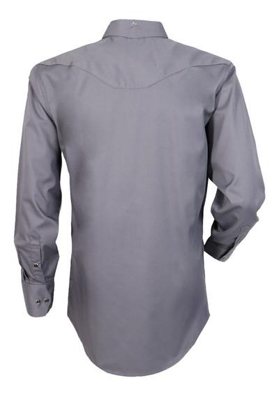 Camisa Vaquera Icy Denver Chh060 Gris