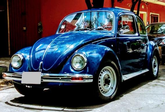 Vw Sedan 1992 Impecable (azul Marino)