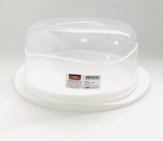 Campana Redonda Con Tapa Plástica 24cm Diametro De Campana