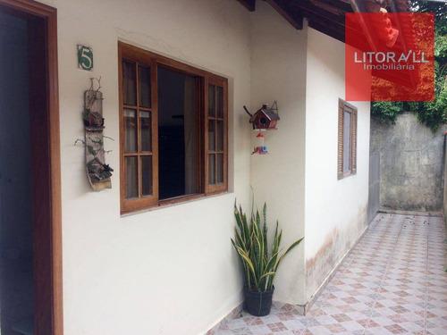 Imagem 1 de 14 de Casa Residencial À Venda, Belas Artes, Itanhaém. - Ca0942