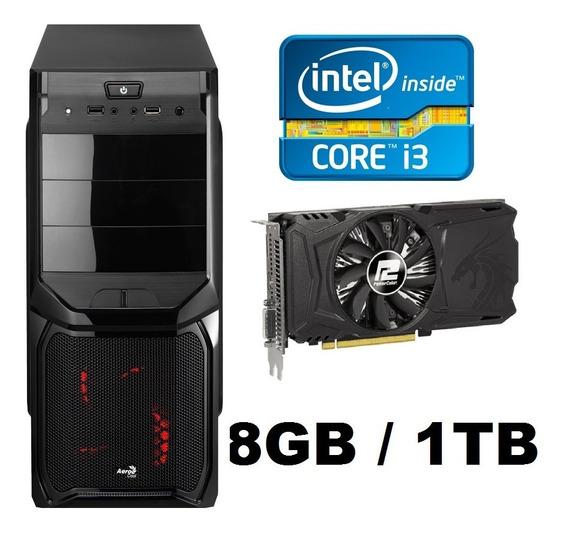 Pc Gamer Core I5, 8gb, 1tb, Rx 550 Gddr5 Promoção