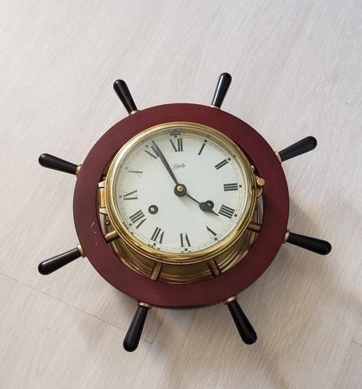 Reloj Pared Alemán Original Schatz Marinero Vintage