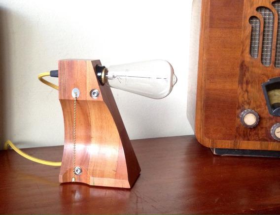 Abajur, Luminária De Mesa Ùnica Lâmpada Retrô Vintage Èdison