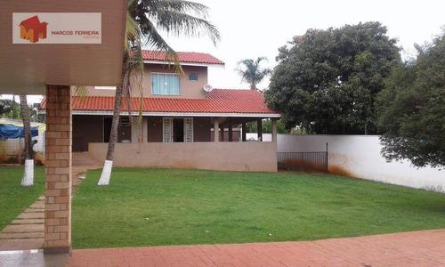 Chácara Com 3 Dormitórios À Venda, 1000 M² Por R$ 700.000 - Parque Residencial Tancredi - Americana/sp - Ch0031