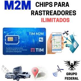 Chip M2m Tim Ilimitado Para Rastreamento Veicular