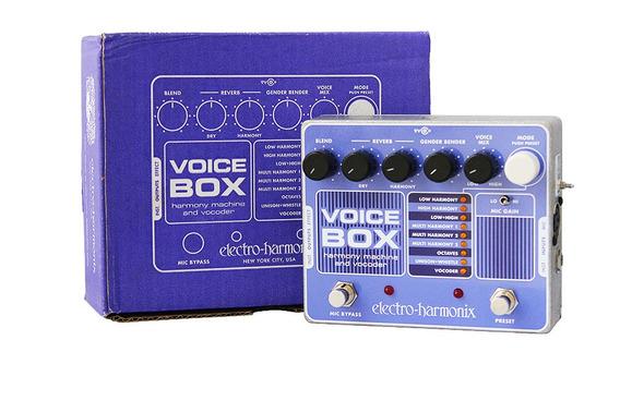 Pedal Electro Harmonix Ehx Voice Box Vocoder Nyc Usa + Fonte