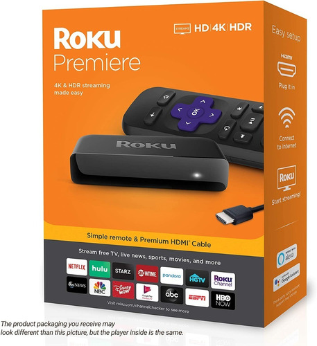 Roku Premiere 4k Hdr Hd Tv A Smart Tv Original Disponible
