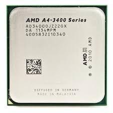 Processador Amd A4 3400, 2.7ghz, 1mb Cache, Soquete Fm1
