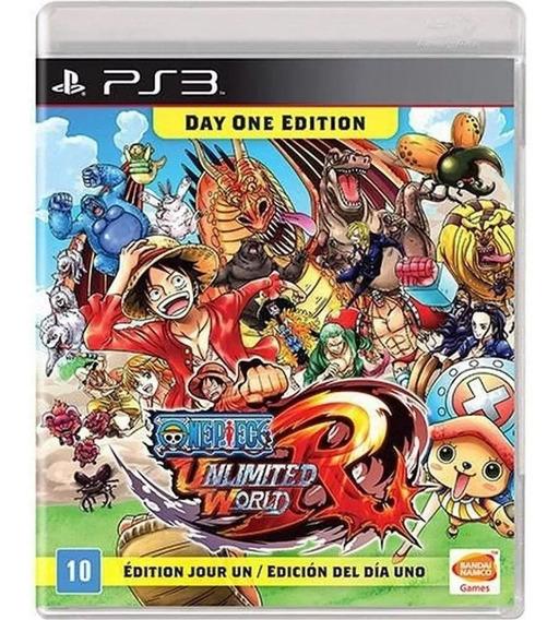 One Piece Unlimited World Red - Ps3 - Novo - Mídia Física