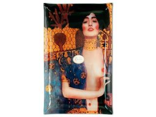 Plato En Cristal Rectangular 45 X 28 Cm Judith Klimt