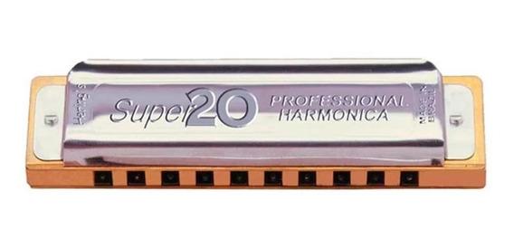 Gaita Hering Diatônica Super 20 Dó C 8020c
