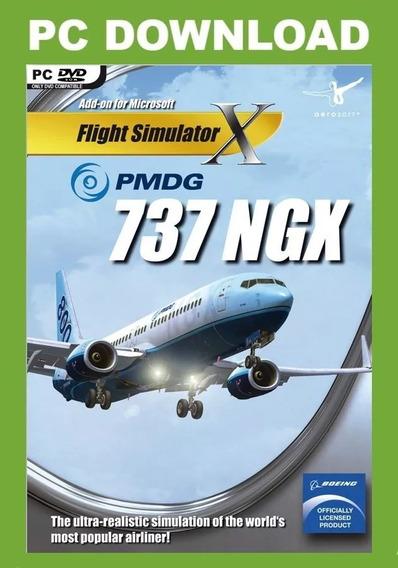 Fsx/p3d - Boeing 737 Pmdg + Manual Português