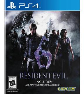 Juego Resident Evil 6 Ps4 Nuevo Original