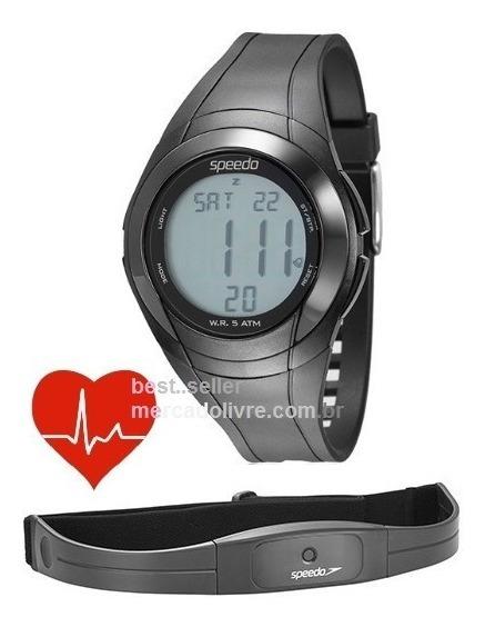 Relógio Pulso Monitor Cardíaco Speedo 58008g0emnp1 Frequênci