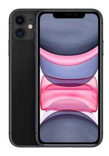 iPhone 11 Preto 6,1 4g 64 Gb E Câmera De 12 Mp - Mwlt2br/a