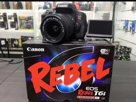 Camera Canon T6i Wireless + Brindes