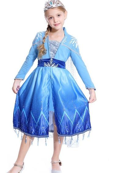 Vestido Elsa Frozen 2 Nuevo Pelicula Ii
