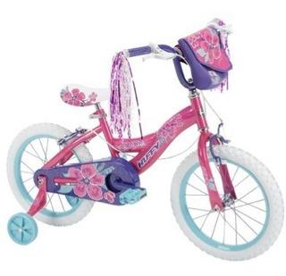 Bicicleta Infantil Aro 16 Huffy N Style Rosado