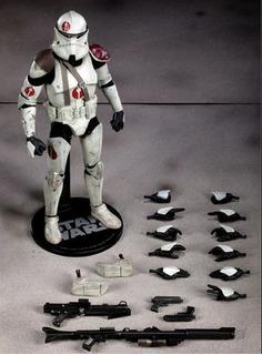 Commander Neyo Star Wars 1/6 Sideshow Hot Toys