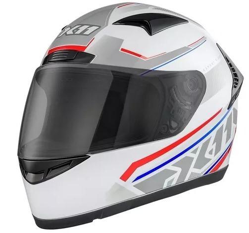 Capacete Moto,motociclista X11 Volt Dash Fechado Braco/verm.