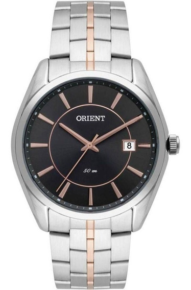 Relógio Orient Masculino Ref: Mtss1094 G1sr Casual Bicolor