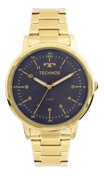 Relógio Technos Fashion Trend Feminino Dourado 2035mfn4a