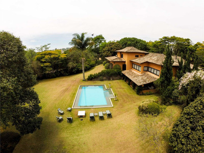 Casa Residencial À Venda, Granja Viana São Fernando Golf Club, Cotia - Ca1794. - Ca1794