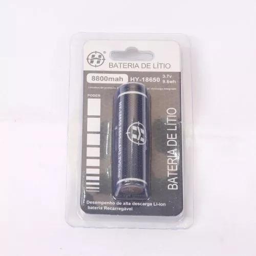 Kit Carregador + 2 Baterias Lítio 18650 3.7v 8800mah Chip