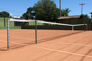 Rede Tenis Em Nylon Quadra Saibro Medida Oficial