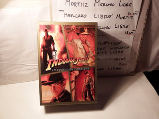 Tetralogia Dvd Indiana Jones Colección Completa Latino Nuevo