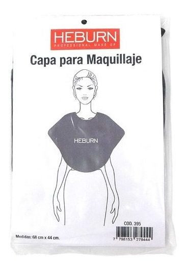 Heburn Profesional Capa De Maquillaje 68cm X 44cm Cod. 395