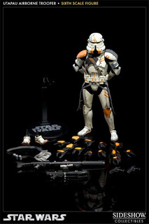 Utapau Airbone Trooper Star Wars 1/6 Sideshow Hot Toys