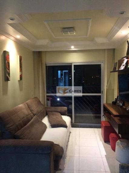 Apartamento Com 3 Dormitórios À Venda, 90 M² Por R$ 430.000,00 - Vila Industrial - Campinas/sp - Ap6972