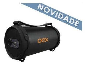 Speaker Bluetooth 30w Drum Sk405 Preto Oex
