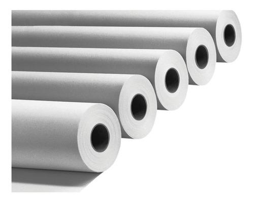 Rollo Papel Plotter Bond Blanco Opaco 90grs 61cm A1 X 5 Uni