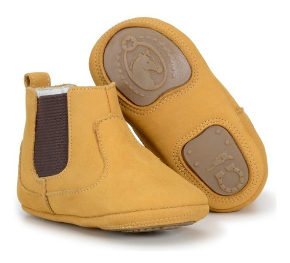 Botina Infantil Baby Country Texana Em Couro Capelli Boots