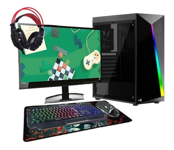 Computador Gamer Hector I3 Gtx1650 4gb 8gb Hd1tb + Kit Gamer