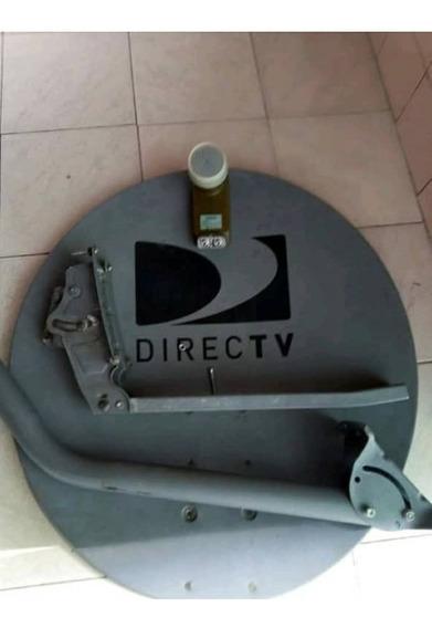 Antena Directv Usada De Lbn Foco Lente Gris Hd Dual 19 Verde