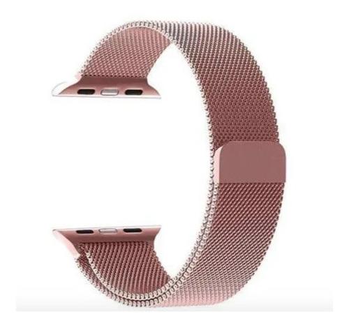 Pulseira Milanese Loop Magnético Série 1, 2, 3, 4 E5 - 42mm
