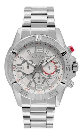Relógio Condor Masculino Cronografo Covd54at/3k